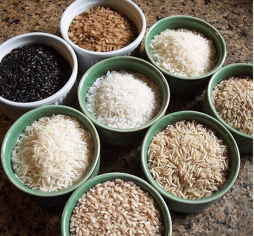 Gạo các loại